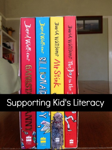 Supporting kids literacy