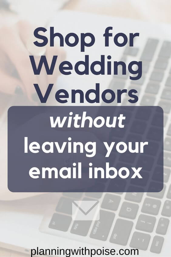 How to shop for wedding vendors when you're short on time: use email templates! Download FIVE free word-for-word templates to find the right wedding vendors, including: Wedding Venue, Catering, Wedding Photography, Bridal Hair and Makeup and your Wedding Cake. Plan your wedding even if you're super busy!