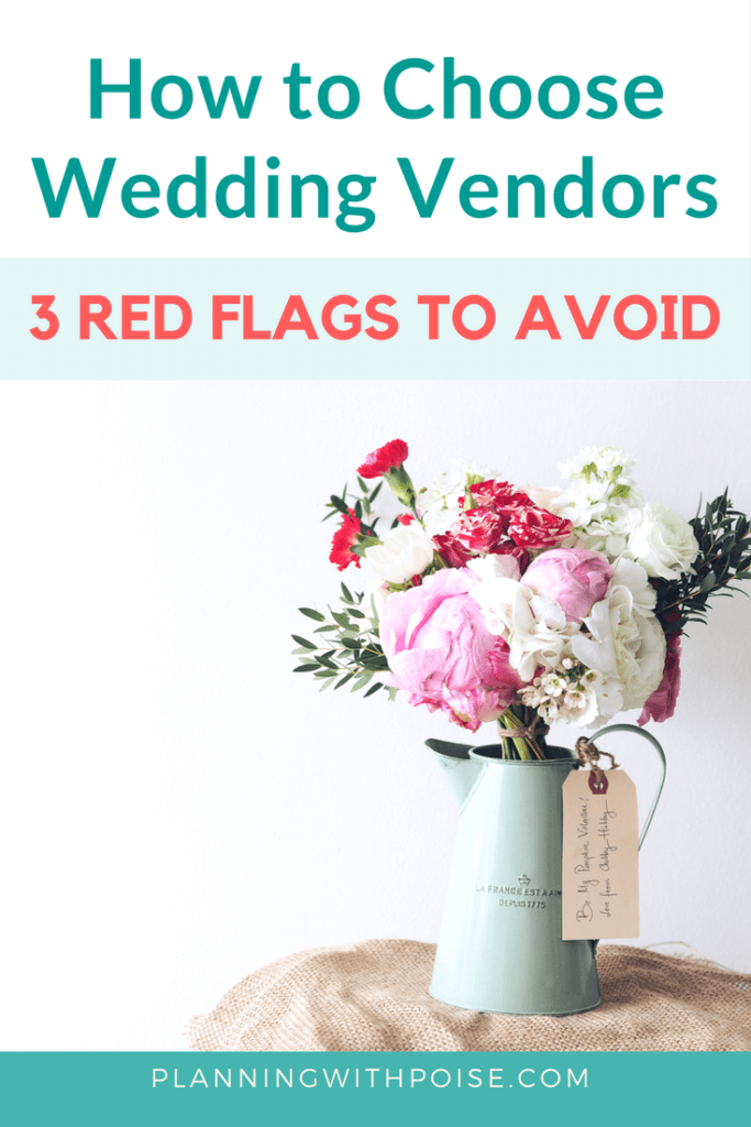In this article, you'll find straight-up, uncensored, candid feedback from real-life wedding vendors. Protect yourself the pushy sales tactics of the wedding industry by keeping an eye out for these three red flags.