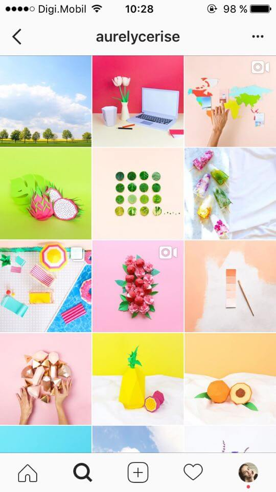 instagram-feed-theme-ideas-colour-block