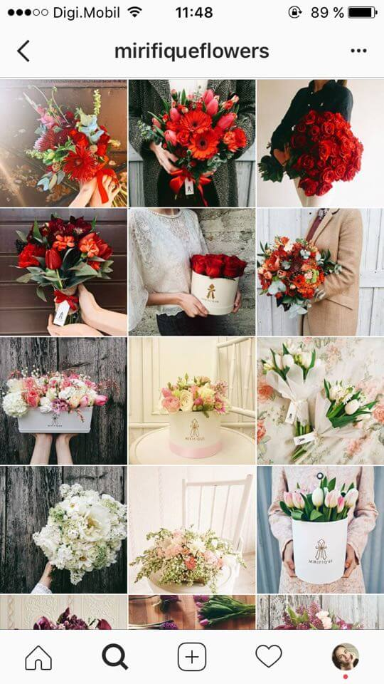 instagram-feed-theme-ideas-floral