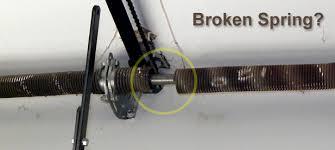 replacing the garage door springs