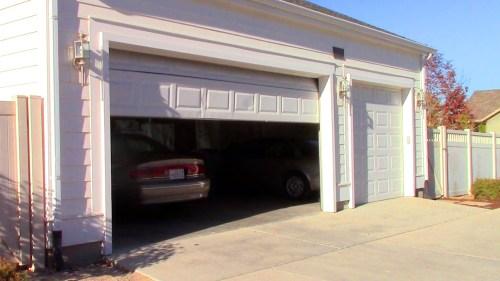 Garage door not shutting down