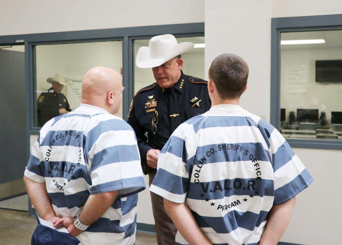 Collin County Sheriff Jim Skinner // photos courtesy VALOR
