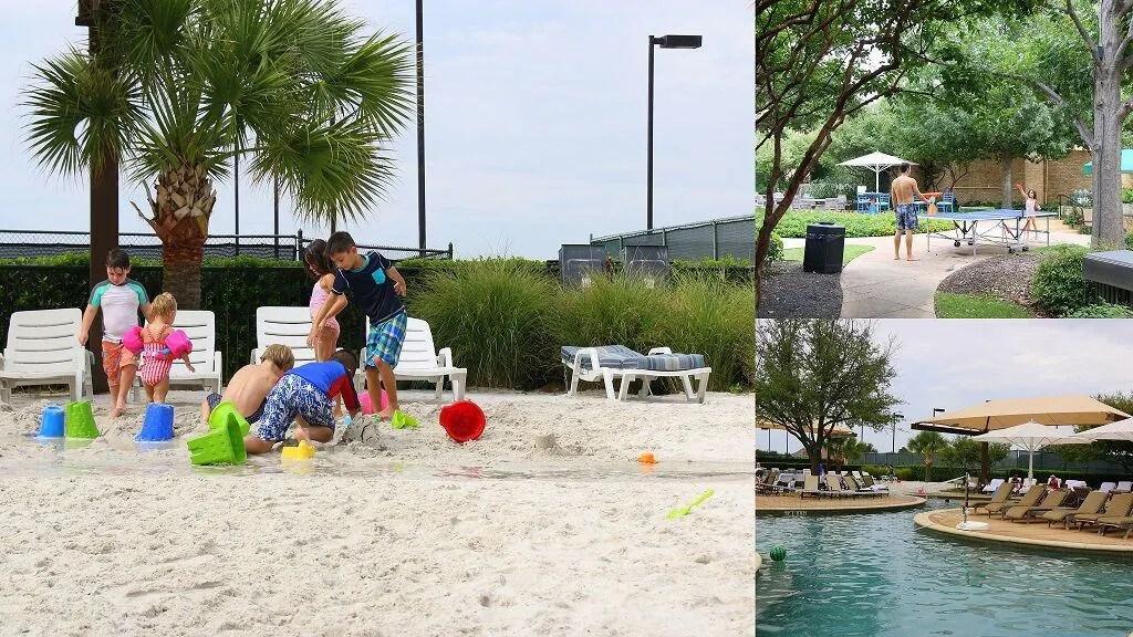Beach staycation Dallas