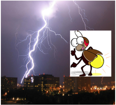 Lightning, or Lightning Bug?