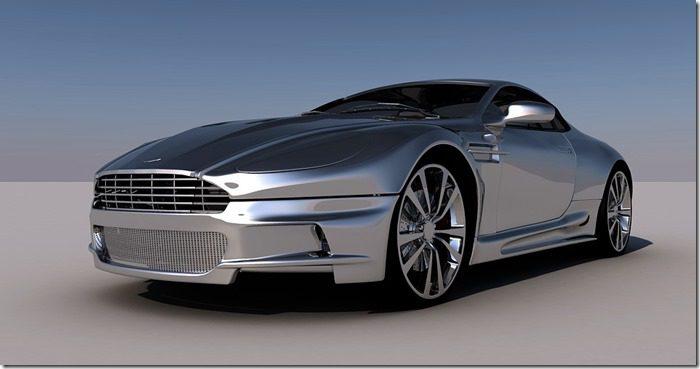 Aston, Martin, Modele 3D - Pixabay