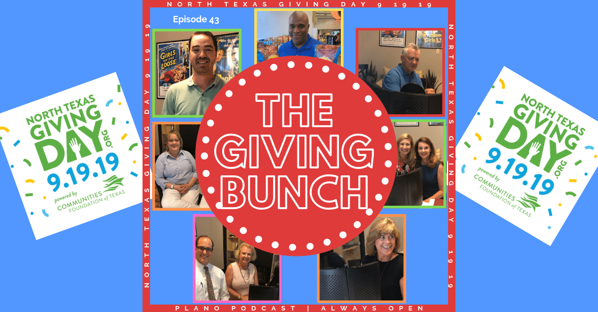 Episode 43: North Texas Giving Day | The Giving Bunch