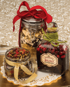Food gifts, Tapenade, Soup, Cranberry Vinegar
