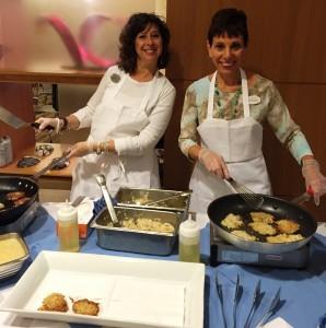 Hanukkah Latkes Cooking