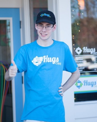 Ruth Thompson, Founder and President of Hugs Café in McKinney