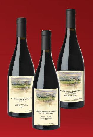 Meadowlark wines