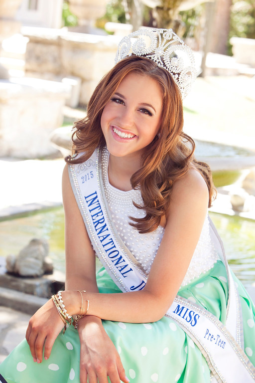 Plano Kendall Moree, 2015 International Junior Miss Pre-Teen