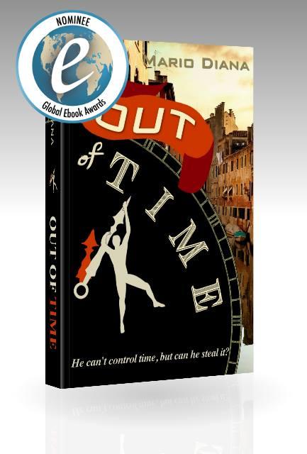 Mario Diana, Out of Time, book Plano Texas
