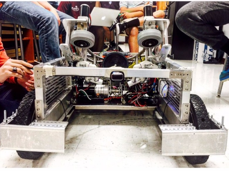 Plano Senior High School WCR Bot for FIRST robotics competition