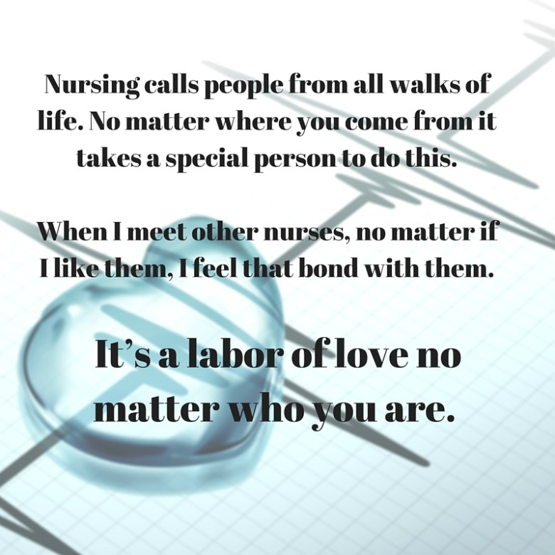 Plano Profile anonymous nurse week confessions heart and heart monitor labor of love