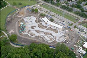 Plano's Jack Carter Pool construction