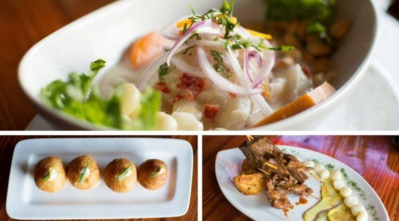 Nusta Peruvian appetizers Plano