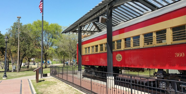 Interurban railroad museum