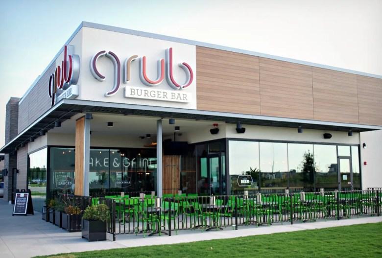 Grub Burger Bar Plano TX