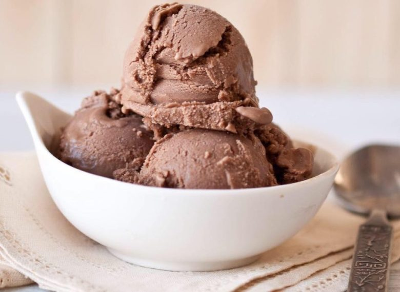 Sweet Firefly bowl of chocolate ice cream
