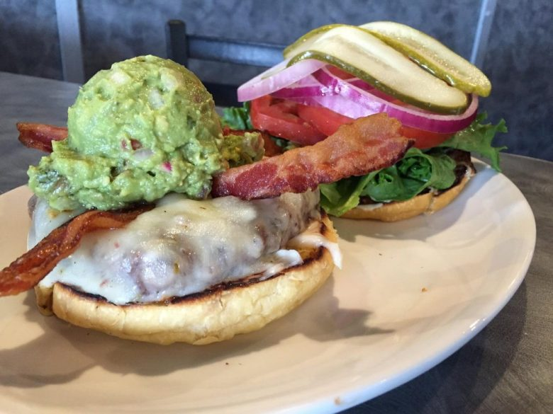 Kenny's Pepperjack and guacamole burger top ten burgers