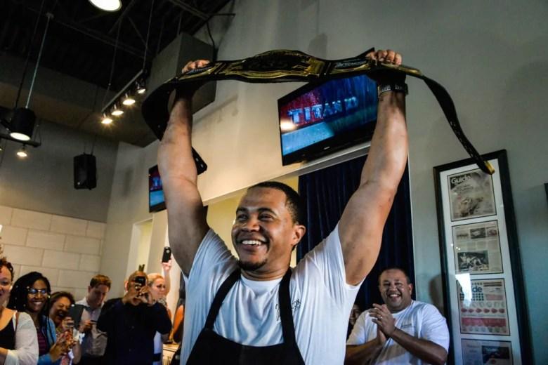 Jermaine Brown, Tre Wilcox, Celebrity Chef Smack Down Plano