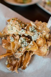 Jasper's The Shops at Legacy, blue cheese chips, cityline