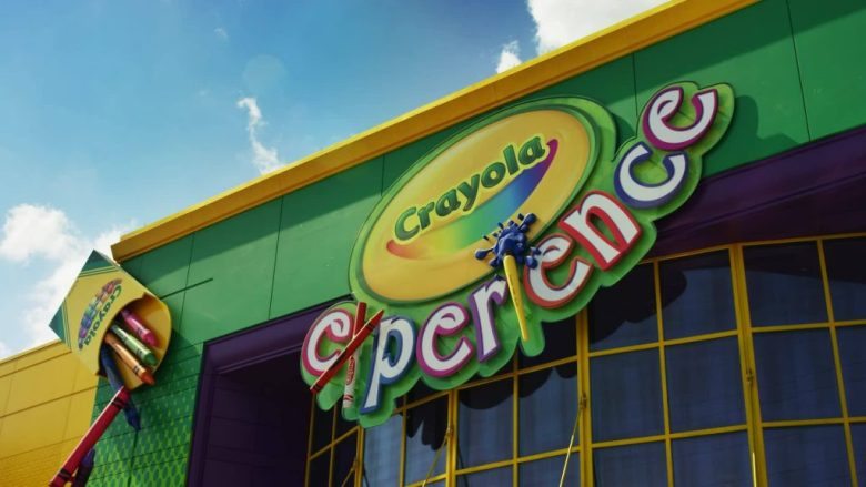 Crayola Experience, The Shops at Willow Bend, Plano, Texas