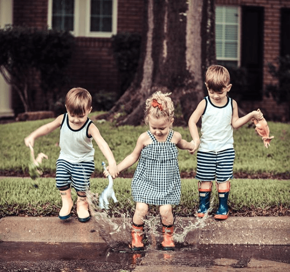 The Bennett Triplets, aka @bennetttriplets on Instagram, Plano, Texas