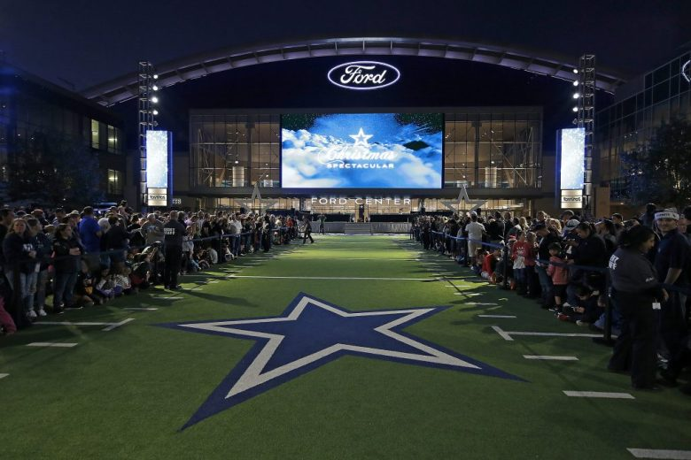 The Dallas Cowboys Christmas Spectacular at Ford Center at The Star in Frisco, Texas. It was the first lighting of the Christmas tree held at The Star. Photo by James D. Smith/Dallas Cowboys