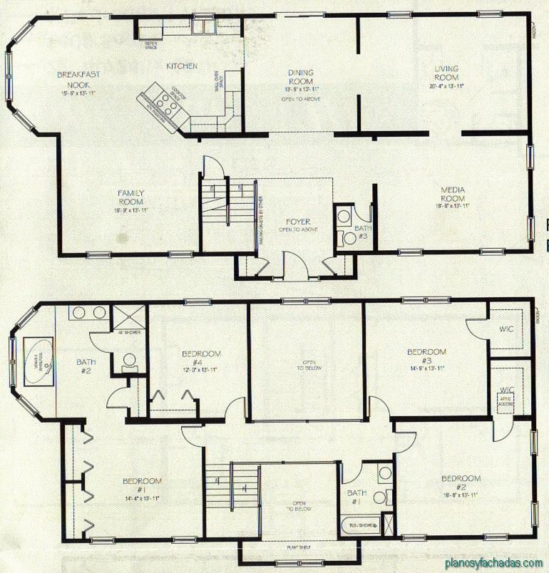15 planos de casas peque as de dos pisos planos y for Planos para tu casa