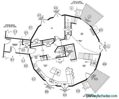 planos de casas circulares (5)