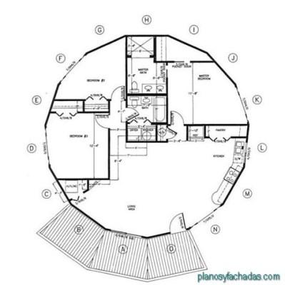 planos de casas circulares (7)