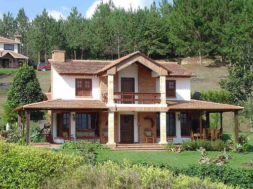 fachadas de casas campestres9