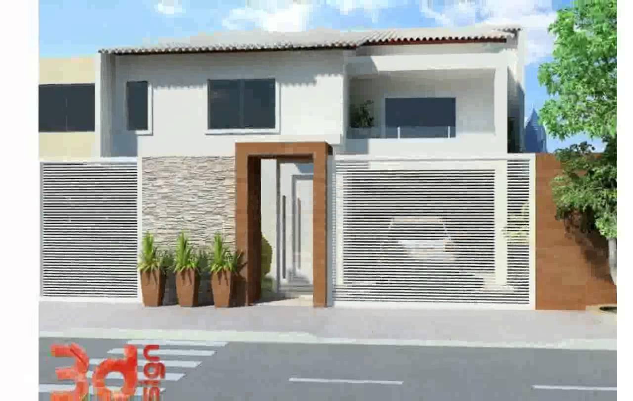21 frentes de casas bonitas planos y fachadas todo for Disenos de casas chiquitas y bonitas