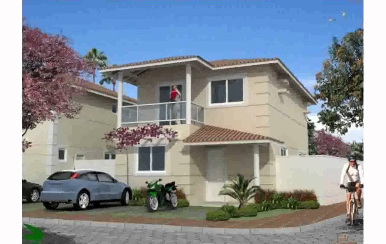 19 im genes de fachadas de casas bonitas planos y for Fachadas de casas modernas en quito