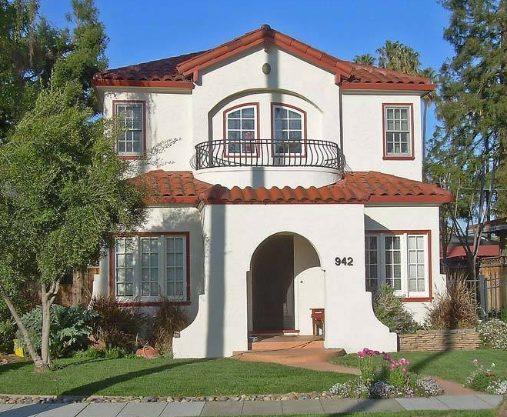10 fachadas de bellas casas coloniales planos y fachadas - Como pintar la fachada de mi casa ...