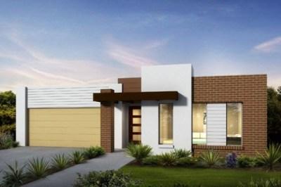 fachadas de casas modernas de un piso10