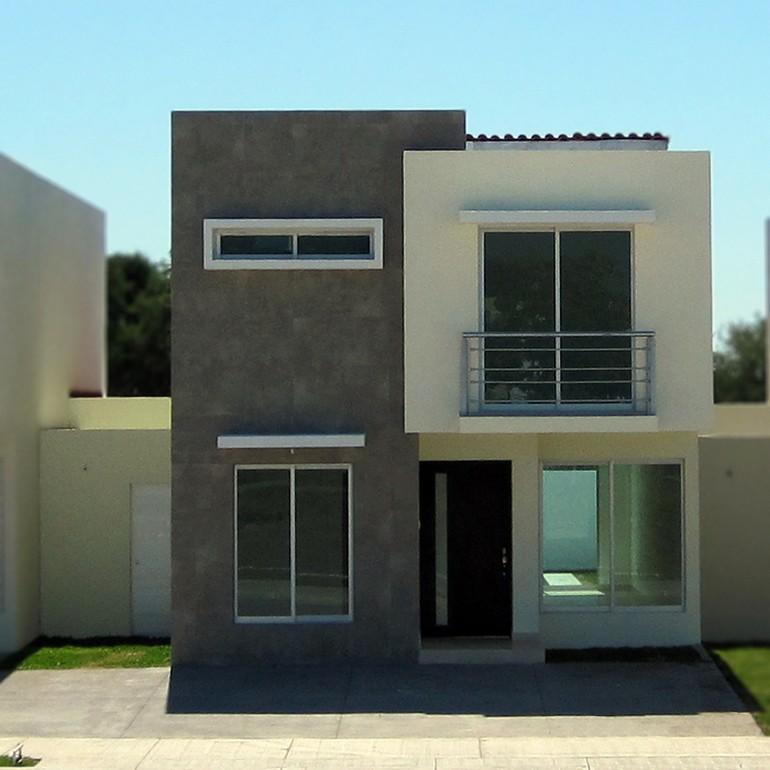 Im genes y fotograf as de fachadas con cantera planos y for Colores para fachadas de casas 2016