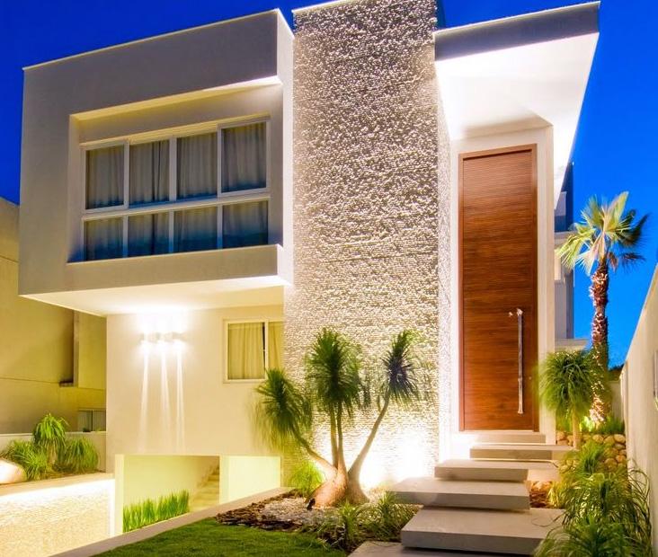 Fachadas de casas modernas de dos pisos planos y for Fachadas pisos modernas