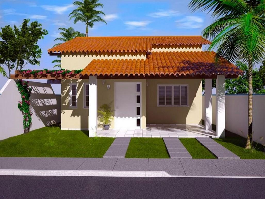 35 fachadas de casas de una planta modernas y vistosas for Casa planta ramallosa