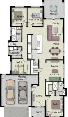 planos-de-casas-de-un-piso-3-dormitorios-12