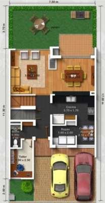 planos-de-casas-modernas-de-dos-plantas-12