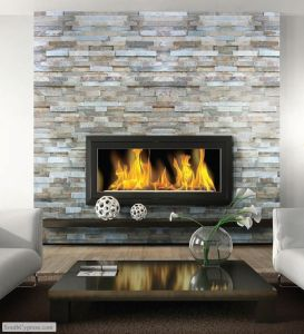 Home Electric Fireplace Remodel