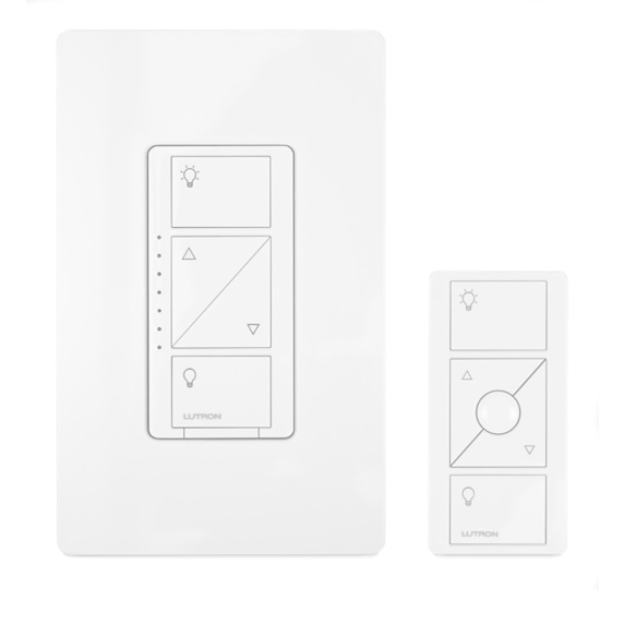 Lutron Caséta Wireless In-Wall Light Dimmer with Remote Image