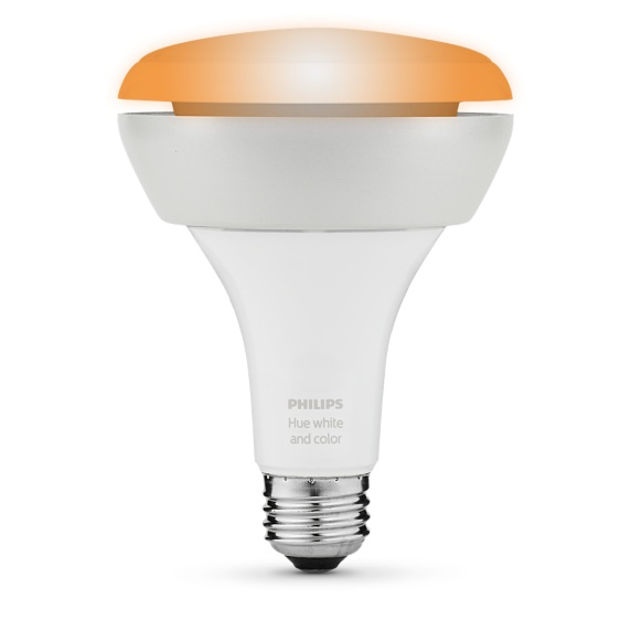Philips Hue Ambience Downlight Bulb BR30 E26 Image