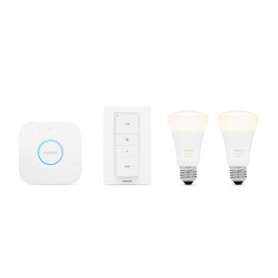 Philips Hue White Ambiance A19 Starter Kit Image