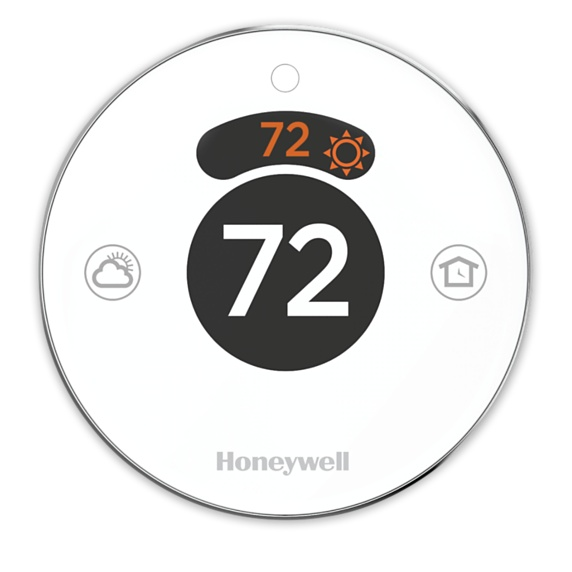 Honeywell Lyric Round Wi-Fi Thermostat Image