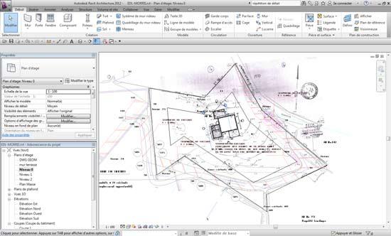 Aides et guides REVIT architecture 2012 en Français